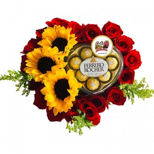 Arreglos Frutales Quito - Amor Chocolatero