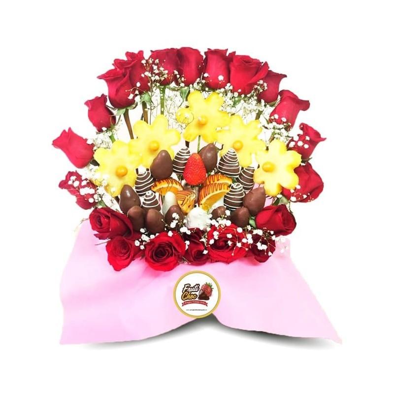 Arreglos Frutales Quito Amor Con Chocolate