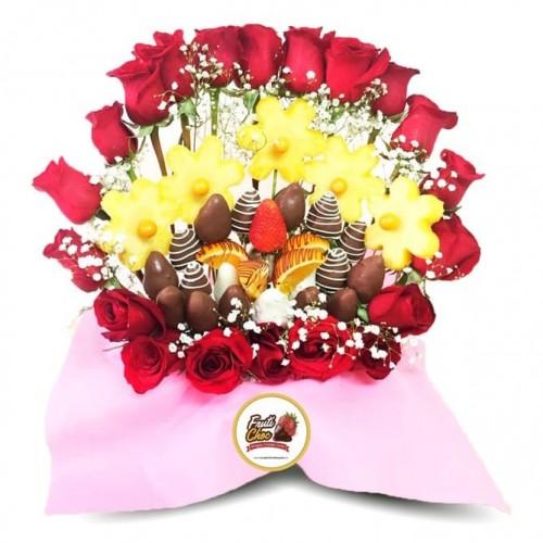 Arreglos Frutales Quito - Amor con chocolate